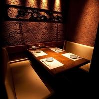 ご宴会・接待に最適『完全個室』