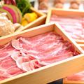 料理メニュー写真日高四元神威豚の豚しゃぶ