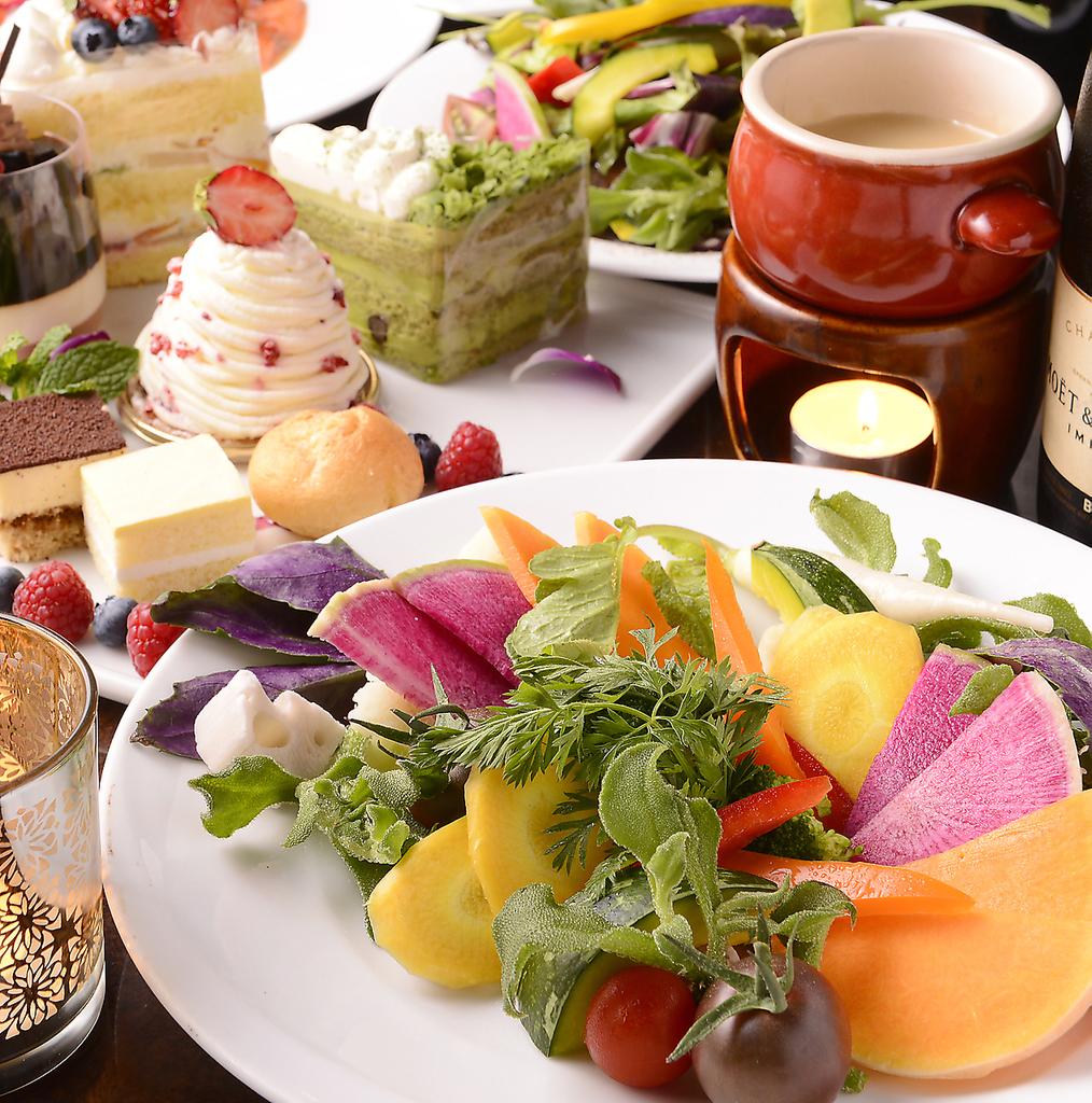 鎌倉野菜とチーズフォンデュ 横浜ガーデンファーム  横浜駅前店|店舗イメージ10