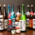 厳選日本酒10種以上OKの飲み放題!!