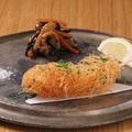 料理メニュー写真プリプリ大海老のパリパリ串