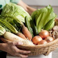 国産野菜も食べ放題