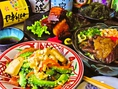 バリエーション豊かな沖縄料理をお楽しみください。
