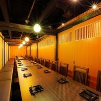 完全個室もあり♪団体様でもご案内可能です!!仙台駅前