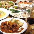 料理メニュー写真宴会 4500円おすすめスタンダードコース 料理7品【2.5時間飲放題付 ワイン6種ドリンク50種飲放題】