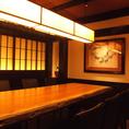 8名様用個室やテーブル席など、心温まる和モダン空間をご用意致します。様々なシーンでご利用ください。