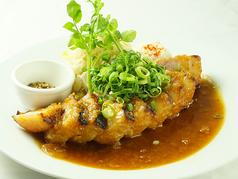 料理メニュー写真広島幻想豚のポークジンジャーセット