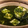 料理メニュー写真青のり豆腐
