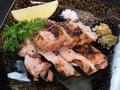 料理メニュー写真福味鶏の炭火焼き ゆず胡椒添え