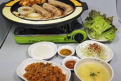 韓国料理 ぜんの豚のコース写真
