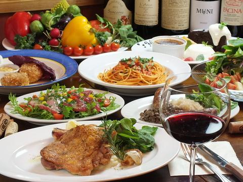 自然派ワインと洋食&イタリアン。軽く一杯、お一人様でもグループでも。