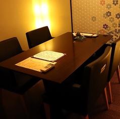 別フロアにはテーブル席を4名様×3つご用意。14名様~フロア貸切も承ります。