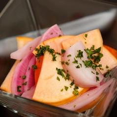料理メニュー写真三浦野菜のピクルス