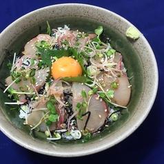 料理メニュー写真香川のハマチ丼