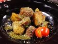 料理メニュー写真フライドポテトのアンチョビガーリックソテー