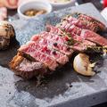 料理メニュー写真アンガス牛のサーロインステーキ
