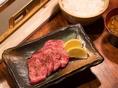 【ランチ】牛タン(厚切り)定食 <1100円>