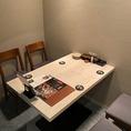 【2階・完全個室B】テーブル個室(2~4名様)