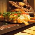 料理メニュー写真串焼き5種盛