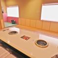 完全個室!!きれいなお部屋で美味しい料理を食べながら忘年会や歓迎会、送別会をするなら清香園で♪※画像はイメージです。※写真は系列店になります。