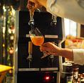 【タップマルシェ】クラフトビール専用のサーバー「タップマルシェ」で注ぐクラフトビールがお楽しみいただけます♪毎月変わる銘柄もタップ・マルシェで☆今月は、「ブルックリンサマーエール」「496」「よなよなエール」「ホワイトエール」の4種類をご用意!