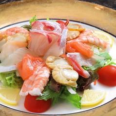 海鮮カルパッチョサラダ