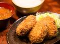 【ランチ】黒毛和牛メンチカツ定食 <900円>