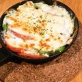 料理メニュー写真アボカドとチキンのチーズ焼き