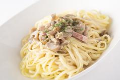 料理メニュー写真3種のきのこのポルチーニパスタ