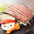 料理メニュー写真極厚特上霜降り牛タンのランプステーキ