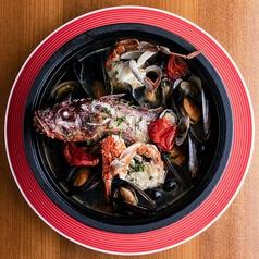 直送鮮魚のアクアパッツァ