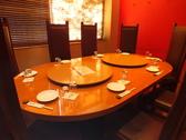 接待や会食にはこちらの個室席が人気です。