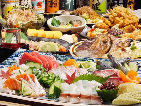 レトロな雰囲気漂う長居にある海鮮居酒屋♪お酒の品揃えと魚料理の旨さに自信あり!