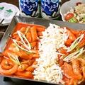 料理メニュー写真チーズトッポギ(2人前)