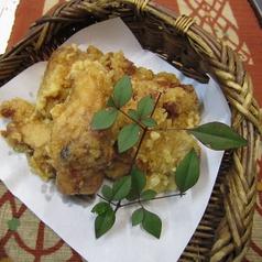 料理メニュー写真せんざんき(鶏のからあげ)