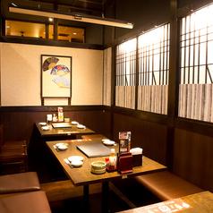 落ち着いた和の雰囲気の中でお食事をお楽しみいただけます♪各種ご宴会ははなの舞 西新井西口店へ★