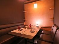 大人空間の高ランク完全個室で美味しい料理をぜひ♪