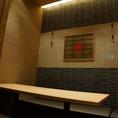掘り炬燵式のお部屋は伸び伸びと出来る広い空間