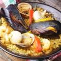 料理メニュー写真魚介のMIXパエリア
