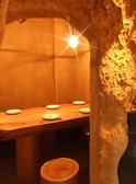 人気の洞窟風の個室!合コンや女子会や誕生日サプライズにオススメ