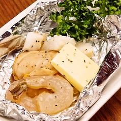 料理メニュー写真海鮮ホイル