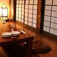 完全個室は、接待やお食事会にも