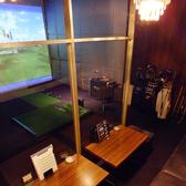 ■ゴルフ個室■(1~6名様)完全個室でゴルフシミュレーター1台あり