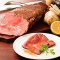 料理メニュー写真【ディナー限定】 低温焼成 ローストビーフ