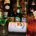 飲み物の種類は豊富!中でもビールは20種