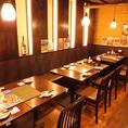 広々テーブル席もご用意。海鮮居酒屋 はなの舞 浦和東口店