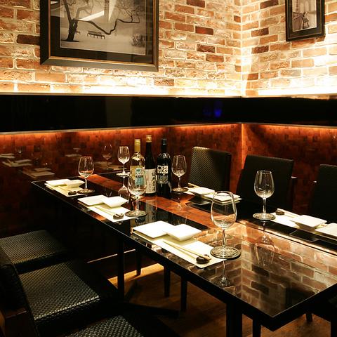 【六本木】ヌーベルシノワとワインの饗宴★炭火焼イタリアンバル 完全個室/2~120名