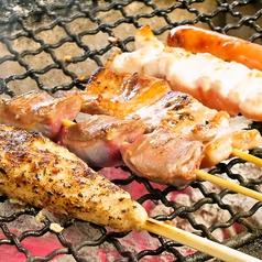 料理メニュー写真【串焼】自家製手ごね つくね