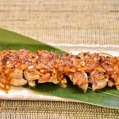 鶏のネギ味噌焼き