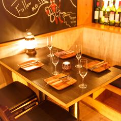 2名様~20名様テーブル席※系列店舗との併設店舗となります